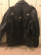 mens real leather motorcycle jacket