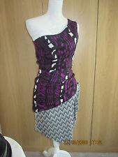 ASOS 1 Shoulder Dress Size 8uk