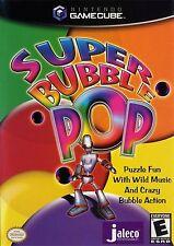 Super Bubble Pop Puzzle Nintendo GameCube game complete in original case