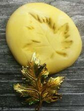 Maple Leaf Flexible Silicone Mold for polymer clay, wax, candy,fondant,resin