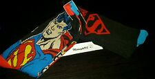 NEW DC SUPER MAN MEN'S 2 PAIRS SOCK. SHOE SZ 6-12