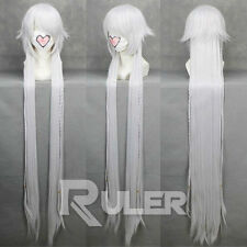 135CM Anime Pandora Hearts Alice White Cosplay Wig COS-167A