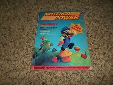 Nintendo Power Magazine 1 1st First Issue July/August 1988 Poster Super Mario 2