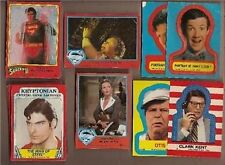 SUPERMAN TRADING NONSPORT CARDS '78-'80-'83