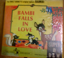DISNEY HOME MOVIE #1107 BAMBI FALLS IN LOVE   SUPER 8