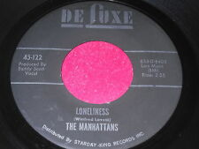 The Manhattans: Loneliness / If My Heart Could Speak 45 - Soul