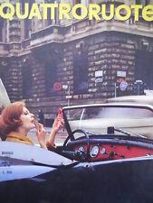 Quattroruote n°89 1963   - Test su strada SIMCA 1000 & Triumph Herald [Q79A]