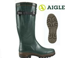Aigle Parcours 2 Iso Wellington Boots, Bronze Various Sizes
