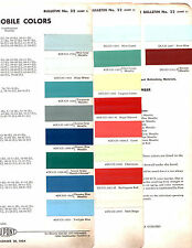 1955 OLDSMOBILE 88 SUPER 88 98 55 PAINT CHIPS DUPONT 3