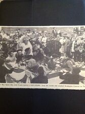 A3-3 Ephemera 1961 Picture Birchington Carnival Julie French Brownies May Queen