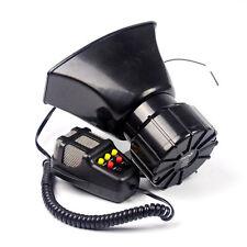 7 Sound style 100W Car Warning Siren Alarm Police Ambulance loudspeaker with MIC