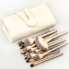 Pro 24 Pcs Makeup Brushes Cosmetic Tool Kit Eyeshadow Powder Brush Set+ Case