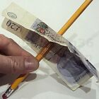 PENCIL THROUGH NOTE MONEY MAGIC TRICK THRU BILL MISLED DAVID COPPERFIELD EFFECT