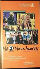 2000 VH1 MY MUSIC AWARDS rare vhs video, METALLICA, CREED, RED HOT CHILI PEPPERS