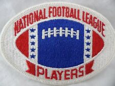 Vintage 70s National Football League Players NOS Sewn On Patch NFL New Unused