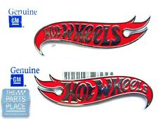 Hot Wheels Edition Fender Emblems - GM 22937300 And 22937299 - Pair