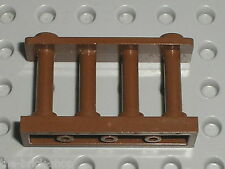 Barriere  LEGO OldBrown fence ref 30055 / set 6098 6091 6764 10025 6755 4707 ...