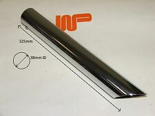 WOOD & PICKETT - CHROME EXHAUST TRIM 3, SEE PICTURE FOR MEASUREMENT