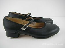 BLOCH Black Leather Tap Shoes Womens Size 7