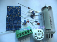 Magic Eye 6E2 EM87 6UH6 EM84 Tube Audio Indicator VU Meter Driver LOW Level Kits