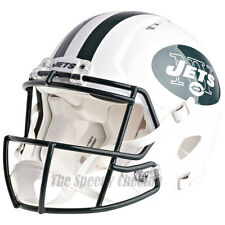 NEW YORK JETS RIDDELL NFL FULL SIZE AUTHENTIC SPEED FOOTBALL HELMET