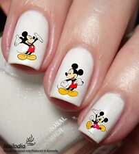 Mickey Mouse Disney Cartoon Nail Art Sticker Water Transfer Decal Tattoo 74