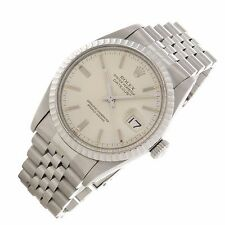 Rolex Datejust 16030 36mm Vintage Stainless Swiss automatic quick set mens watch