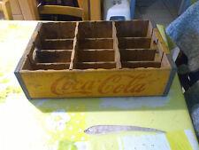caisse en bois coca cola  100% authentique