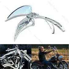 TEARDROP CHROME F# CUSTOM REARVIEW MIRRORS FOR HARLEY MOTORCYCLE CHOPPER CRUISER