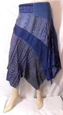 FAIR TRADE GRINGO HIPPY BOHO ETHNIC HIPPIE FESTIVAL PATCHWORK SKIRT FROM INDIA L
