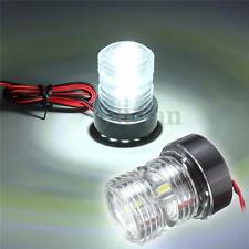 Marine Boat Yacht Chandlery Navigation LED Light 12V All Round 360 Degree White