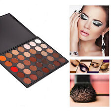 Fashion Women 35 Color Warm Shades Makeup Cosmetics Eyeshadow Palette