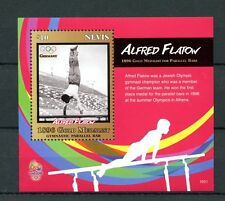 Nevis 2016 MNH 1896 Olympic Champions Alfred Flatow Rio 1v S/S Olympics Stamps