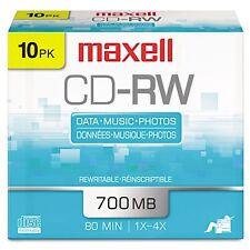 Maxell CD-RW Discs - 630011