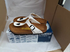 *New* Birkenstock Gizeh White Thong Sandals UK Size 4.5 EU 37