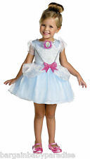 DISNEY Cinderella Toddler Dress Costume Gown Ballerina w Gloves 3T - 4T NWT