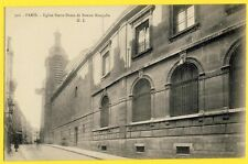 cpa Rare FRANCE 75 - PARIS Rue Beauregard ÉGLISE ND de BONNE NOUVELLE Church