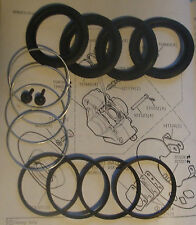 (x2) FORD Granada (Mk1 & Mk2) FRONT BRAKE CALIPER Seals Repair Kits (1972- 85)