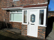 uPVC Porch And Canopy Supplied & Fitted In White Only £3300.00