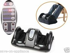 Used  Shiatsu Foot Massager Deep Kneading Rolling Feet Therapy Massage w/ Remote