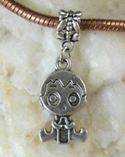 30PCS Tibetan Silver Boy dangle For Charm Bracelet W8107