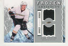 2012-13 UPPER DECK ARTIFACTS FROZEN CAM FOWLER JERSEY ANAHEIM DUCKS