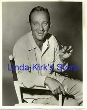 """Bing Crosby Promotional Photograph Bing & His Pipe ABC """"The Bing Crosby Show"""""""