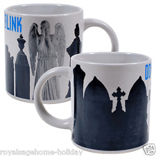 3763 Weeping Angel Heat Activated Mug Cup Coffee Dr Who Sci Fi BBC Don't Blink