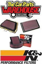 K & N Air Filter NEW 33-2866 AUDI RS6, 4.2L-V8 2002-2003  (2 FILTERS REQUIRED)