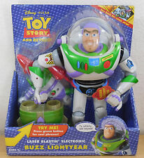 NEW Toy Story and Beyond  LASER BLASTIN Electronic Talking Buzz Lightyear