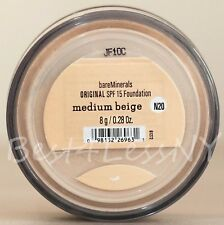 bare-escentuals bareminerals Medium Beige N20 8g XL ORIGINAL SPF 15 foundation