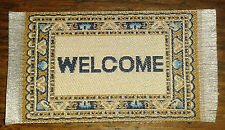 Dollshouse Dolls House Miniature Welcome Mat