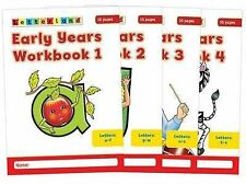 Early Years Workbooks (1-4) Fidge, Louis Paper 9781862092389