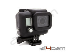 GoPro HERO 3 Silicon Case Protective Dirt proof Skin Black Rubber Cover HERO3